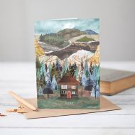 Mia Hague 'Home' Card